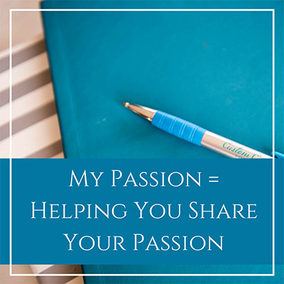 Let Me Share My Passion With You